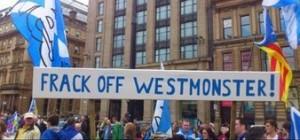 anti fracking banner